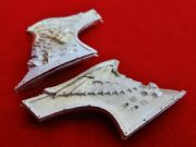 Sammael Master of the Ravenwing Jetbike Front Bow pieces (metal)